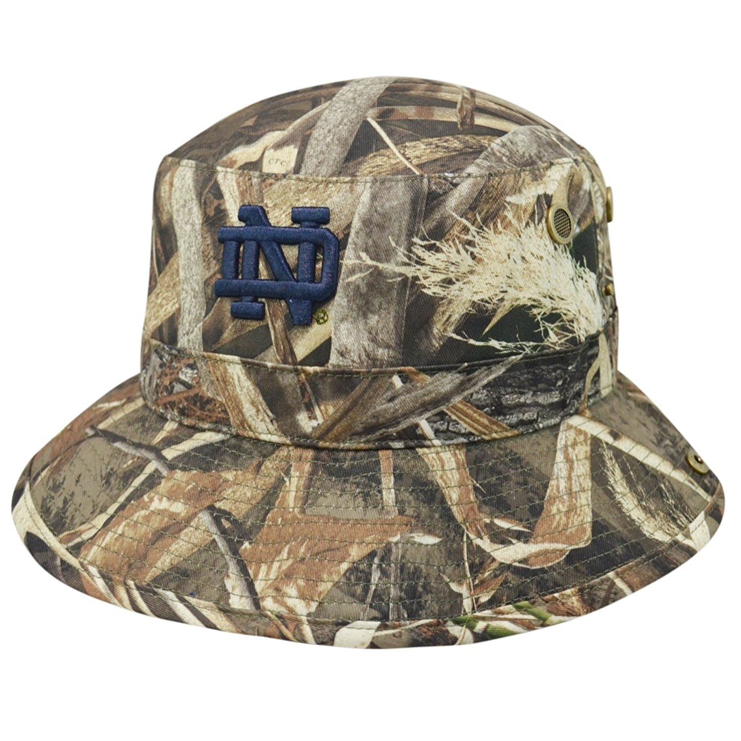 15634764559 Get Quotations · Notre Dame Fighting Irish Bucket Hat Realtree Camo Boonie  Max