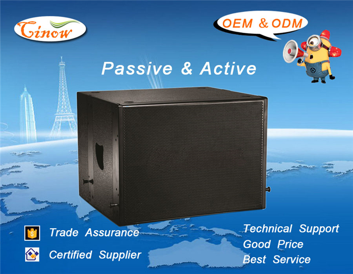 1x18Inch Passive Subwoofer , Line Array, 800Watt,Inverted Sound Box Design, SUB118N, to be matched with PLA28