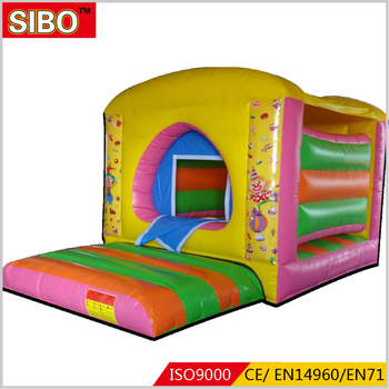 ODM&OEM welcome bouncing castle inflatable dome house