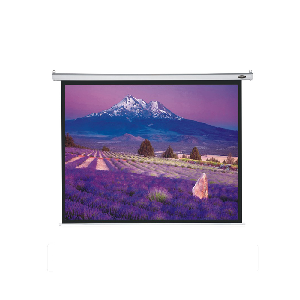 High contrast pure matte projection screen fabrics Electric Projector Screen with remote control custom size are available