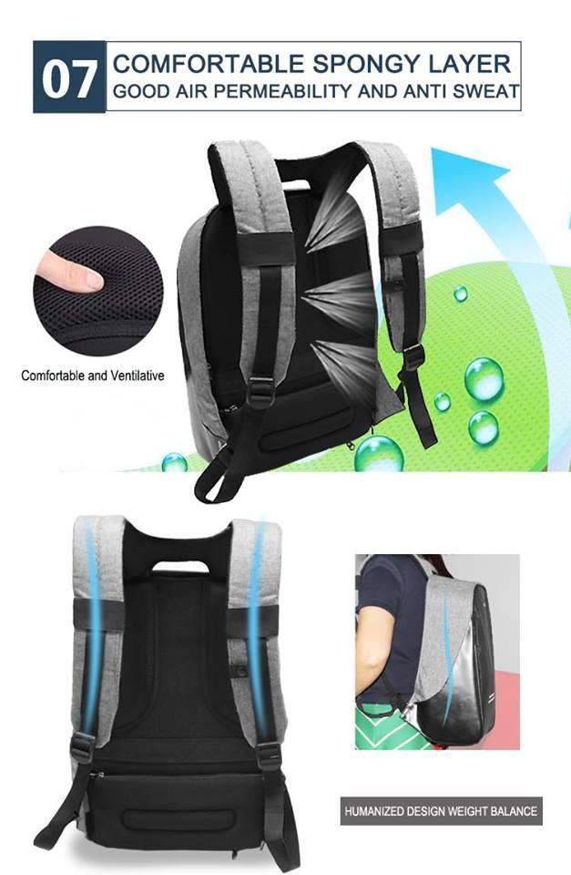 2016 nouveaux produits anti vol sac dos pickpocket preuve sac dos alibaba china express l. Black Bedroom Furniture Sets. Home Design Ideas