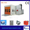 CE approved car workshop equipment/oven car paint/car spray booth