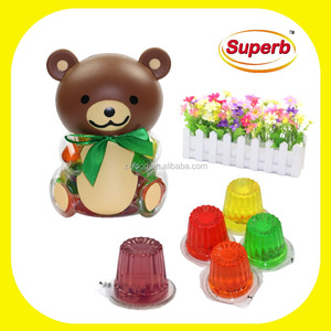 The Best Holiday Gift For Children (Fruit Jelly in Bear Shape Jar)