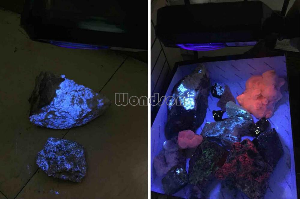 8w Scheelite Finder Minerals Detector Rechargeable Handheld