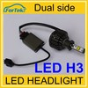 12-36V h3 led bulb for vehicle automobile motorcycle truck