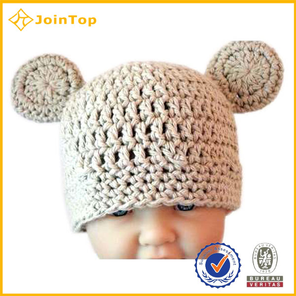 Crochet Pom Pom Free Knitted Pattern Infant Baby Boy Beanie Hat ...