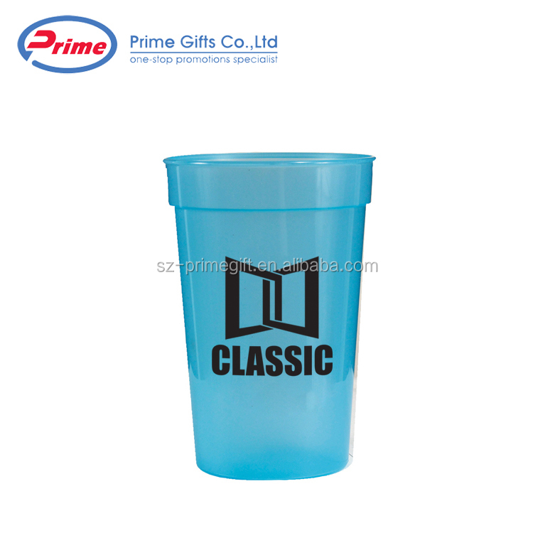 Wholesale Customized Good Quality Trendy Style Colourful Plastic Cup