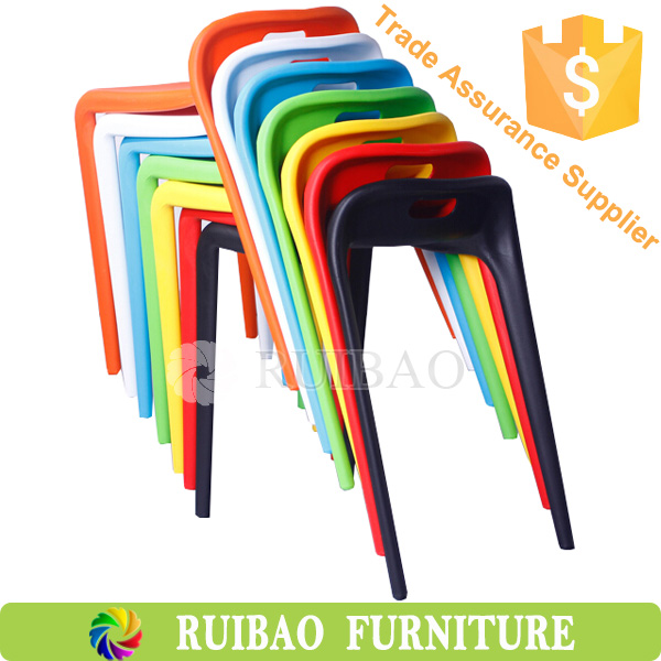 Anji PP Plastic Bar Stool,New design Colorful Leisure Stool,Light Stackable Dining Chair