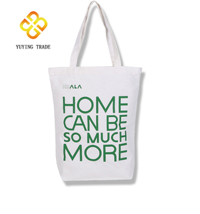 Promotional cheap custom printed canvas tote cotton bag women cotton shopping bag