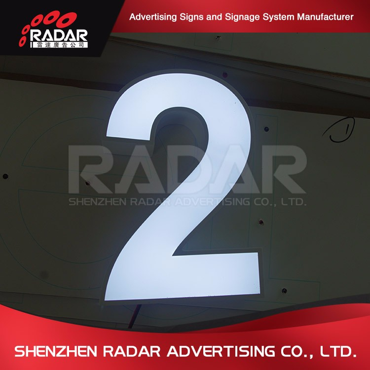 World best selling products solar light channel letter sign