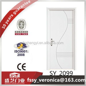 Foshan manufacturer high quality fire rated solid wood door