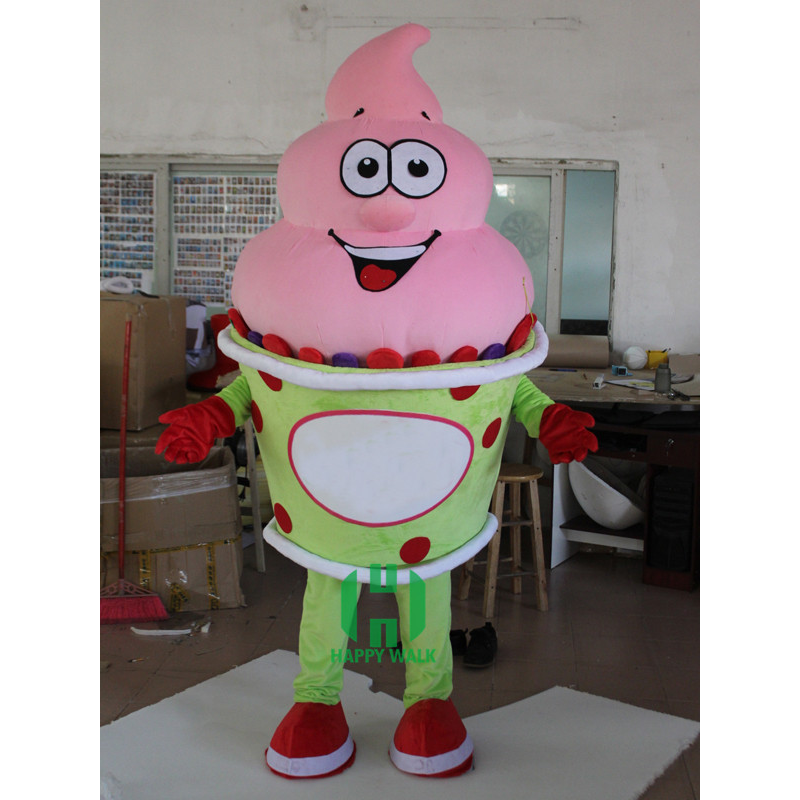 Ice cream character costume for promotion, high quality sweet ice cream mascot, made in china mascot costume!!