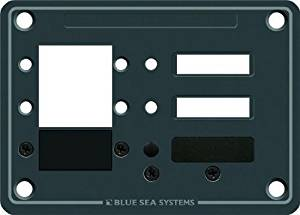 Blue Sea Systems C-Series DC Panel 3 Position Citcuit Breaker by Blue Sea Systems