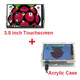 3.5 inch LED TFT Touch Screen Display +Stylus+ Acrylic Case Compatible Raspberry Pi 3 Model B
