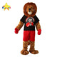 Funtoys CE Bwron furry head lion mascot costume for adult