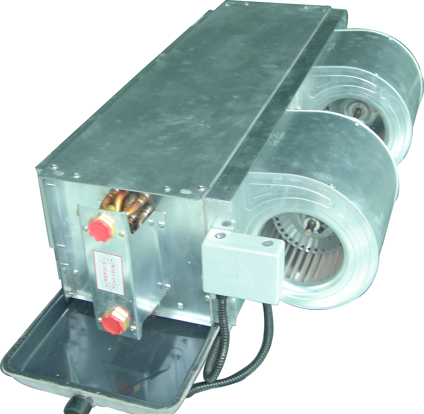 chiller water fan coil unit for heating and cooling