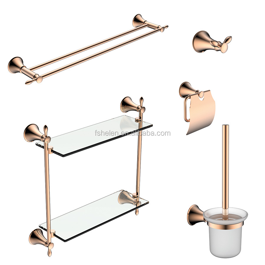 Brass Bathroom Accessory Set, Brass Bathroom Accessory Set Suppliers ...