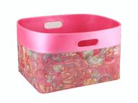 Leatherette Laundry Basket ,Laundry Bin,Home Storage