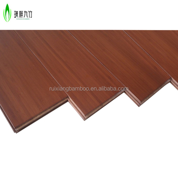 Solid Surface Bamboo Flooring Carbonized Eco Friendly Wooden