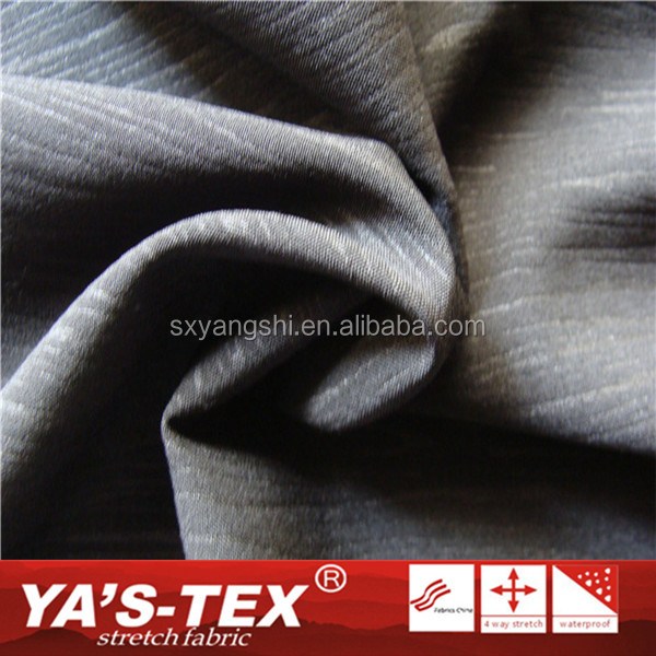 Textiles Wholesale Waterproof Embossed Polyester Sports Wear Fabric With High Quality