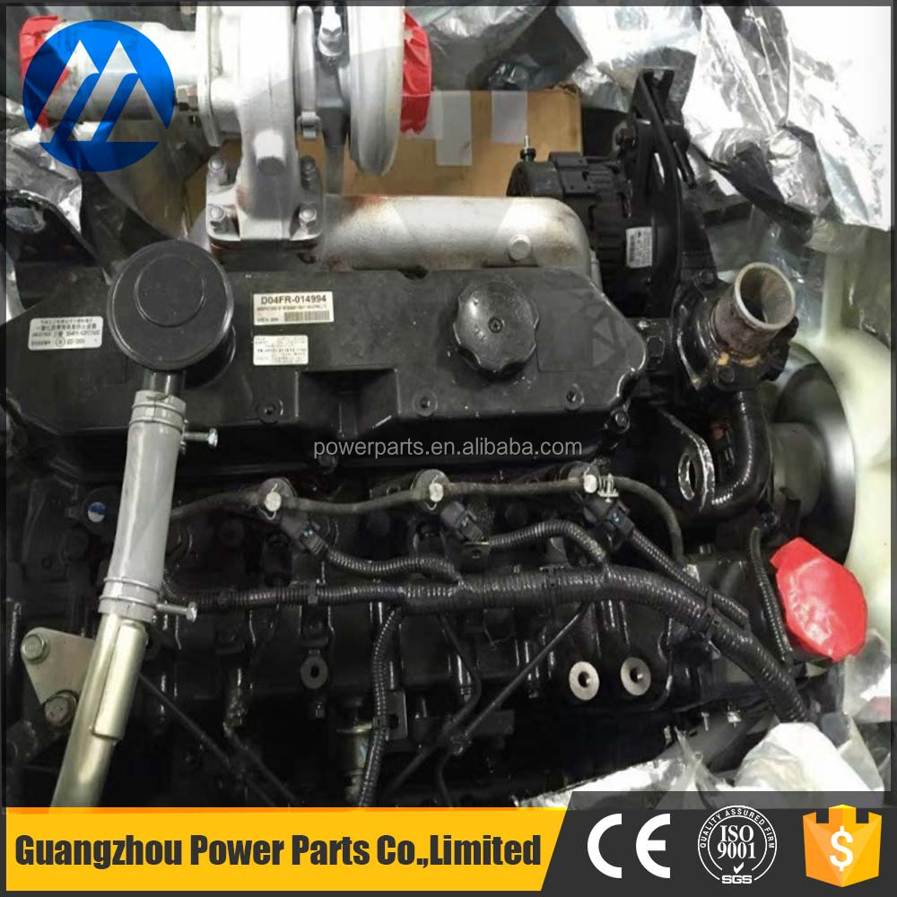 Alibaba China Excavator complete diesel the engine 6D16 for DH170