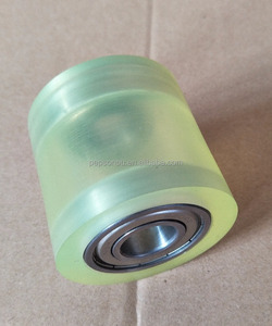 Polyurethane Rubber Rollers With Bearing