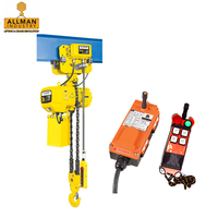 With remote failsafe brake 2 ton electric chain hoist 5 ton