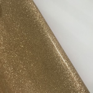 Crystal Super Fiber PVC Glitter Vinyl Fabric Rexine Leather Materials To Make Purses In China