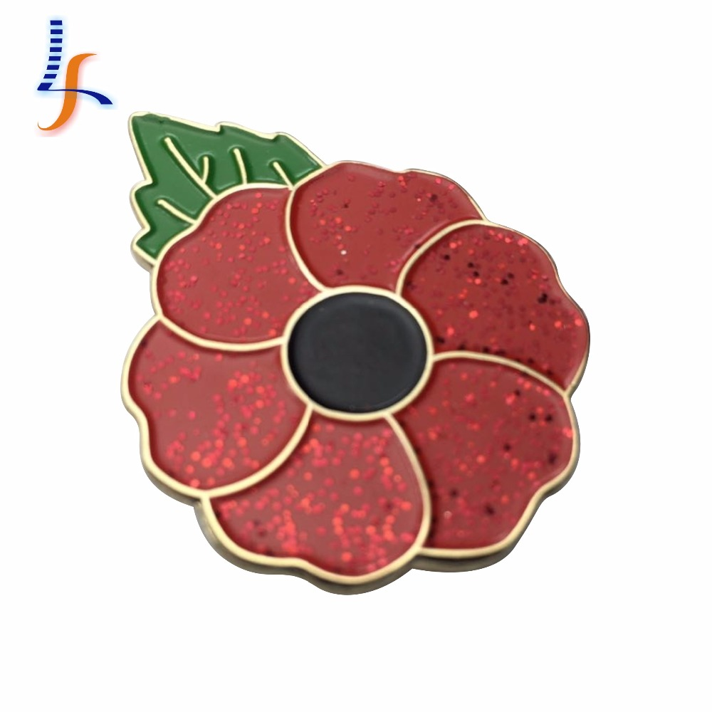 Red Poppy Lapel Pin Red Poppy Lapel Pin Suppliers And Manufacturers