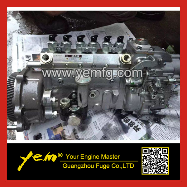 6D34 fuel injection pump assy for SK230-6E fuel injector pump