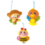 baby bed bell wonderful musical animals