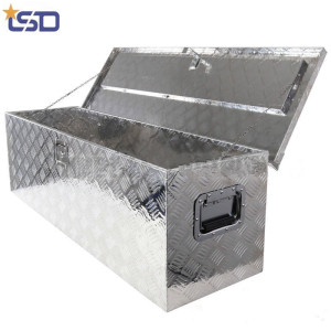 Top opened door Aluminium Truck bed tool box