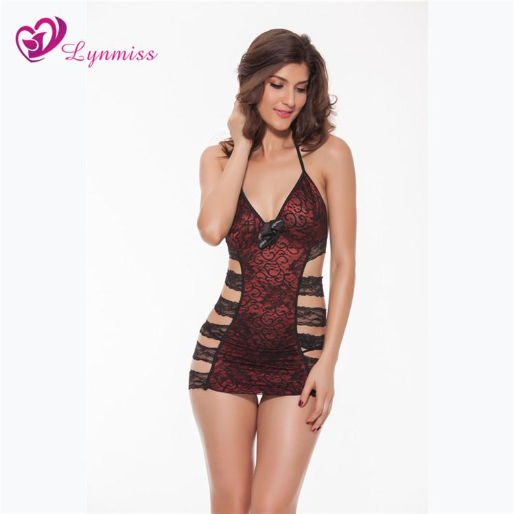 142618d3e5d 2017 hot sale Lynmiss manufacturer women lace sexy panties transparent  flower embroidered underwear