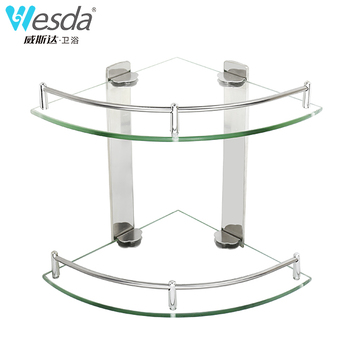 Wesda Bathroom Glass Shelf,Corner Shelf   Buy Bathroom Glass Shelf,Bathroom  Glass Shelf,Glass Shelf Clips Product On Alibaba.com