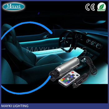 Car Lights Bus Fiber Light Optic Ambient Interior Kit With Color Changing Using Mini Seat Door Product