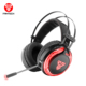 Best Computer Wired Gaming Vibration 7.1 Surround Sound Headset With Microphone Mic LED RGB Light For Pc HG12 By Fantech