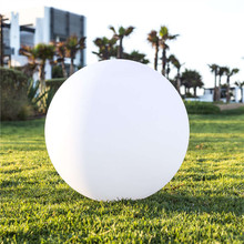 outdoor garden LED glowing light ball solar charging waterproof LED ball lamp