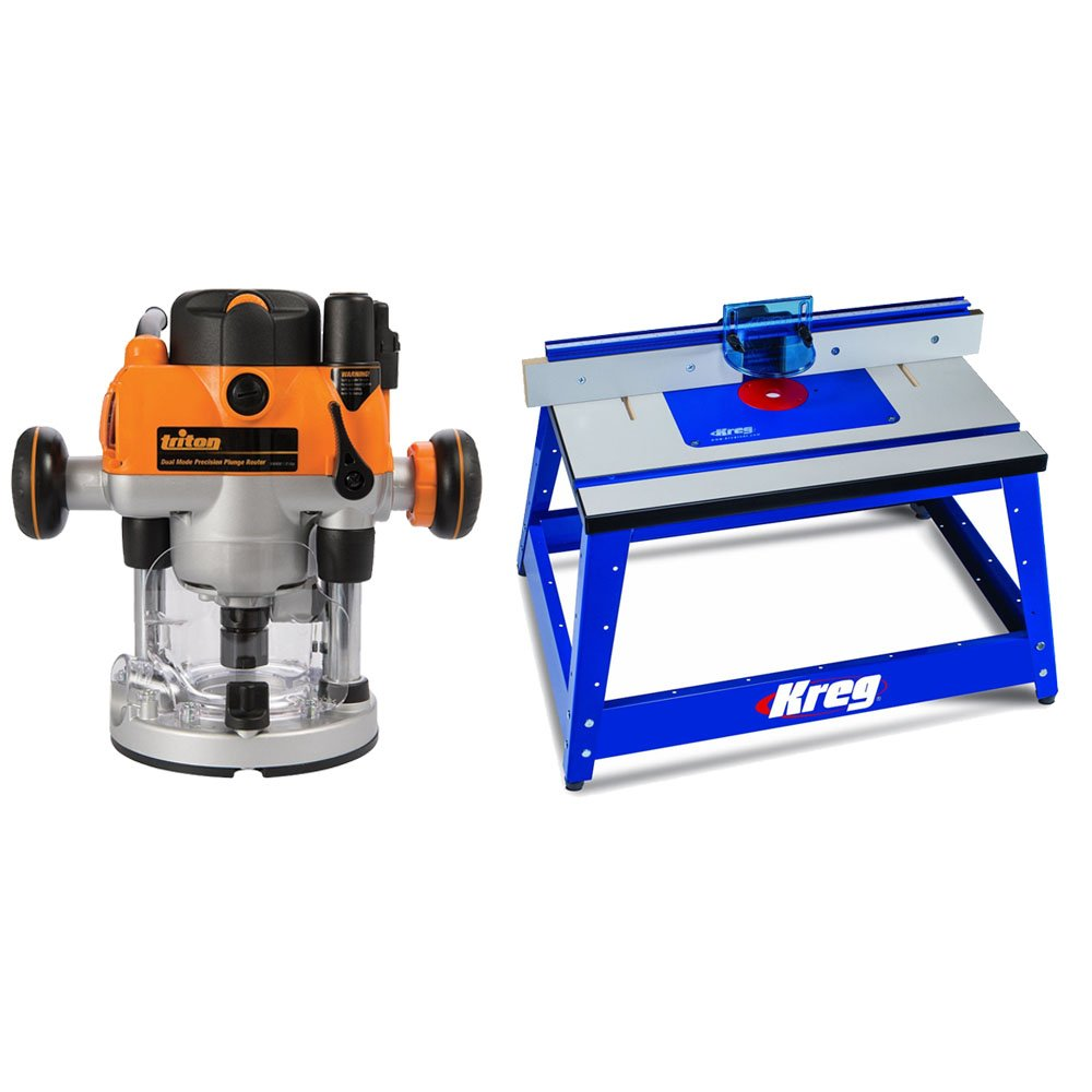 Cheap woodcraft router table find woodcraft router table deals on get quotations triton mof001 2 14hp router and kreg prs2100 bench top router table greentooth Choice Image