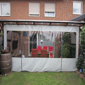Clear PVC Gazebo Side Panels/Patio Enclosure Curtain