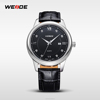 2014 WEIDE New Luxury Brand Quartz Watches Sports Dive Watch Clocks high quality men Leather Strap Watches Wristwatch