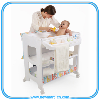 High quallity baby changing table folding baby changing for Mesa cambiador bebe