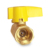 Kitchen Helium Co2 Alu. Handle  Forging Quick Release Brass Gas Cock Ball Valve Regulator