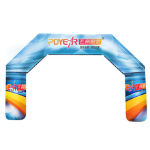 Shop cheap outdoor race event air finish line gate 3m inflatable arch for sale