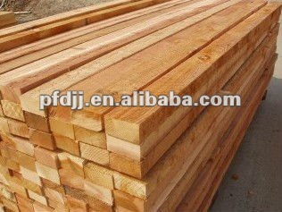 White wood sawn timber (pine timber/spruce timber)
