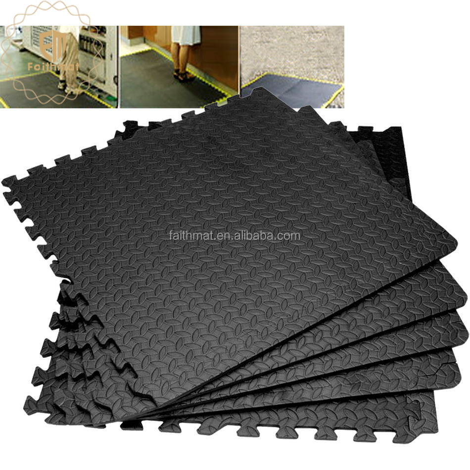 Black Foam Interlocking Fitness