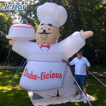 Inflable Chefmodeloinflable Kitchenerinflable Cocinar De Dibujos