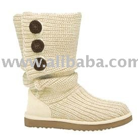2010 new arrival style women white wool snow knee boots!So fashion boots!