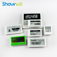 Retail shelf label digital price tag display for supermarket
