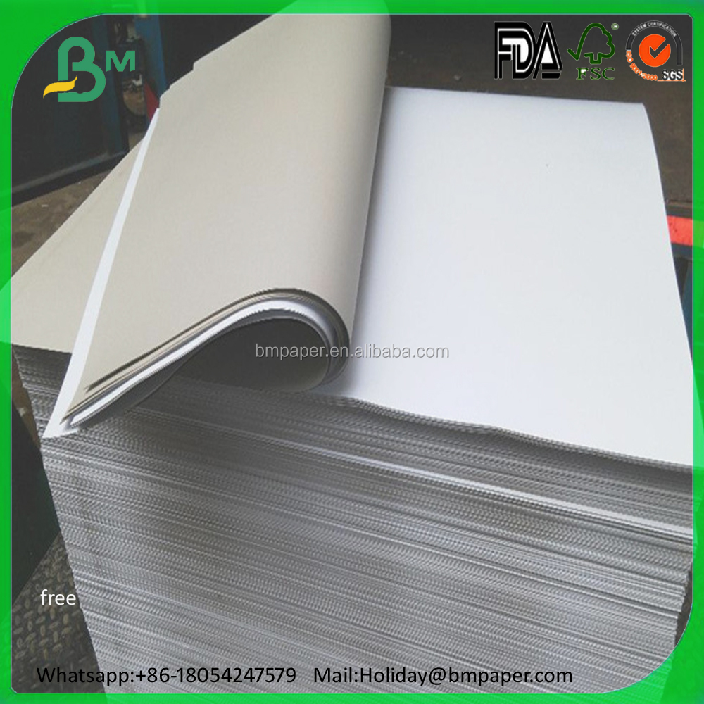 Hot Sale China 230g 250g 300g Coated Duplex Paper/Duplex Board Grey back