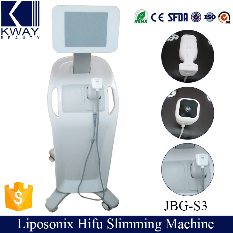 New design targeting 13mm fat liposonix hifu slimming beauty machine with non-thermal effect